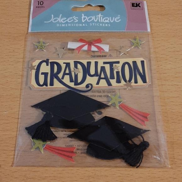 ☀️3/$10☀️ NWT Graduation Stickers